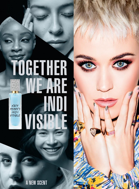Katy Perry's Indi Visible Perfume