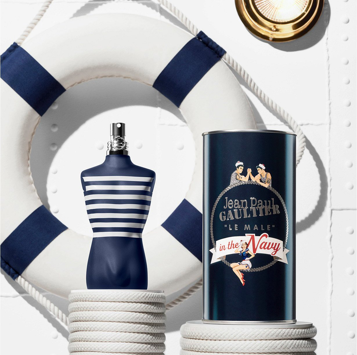 Jean Paul Gaultier Le Male In The Navy Perfume