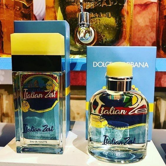 Dolce & Gabbana Light Blue pour Homme Italian Zest Perfume