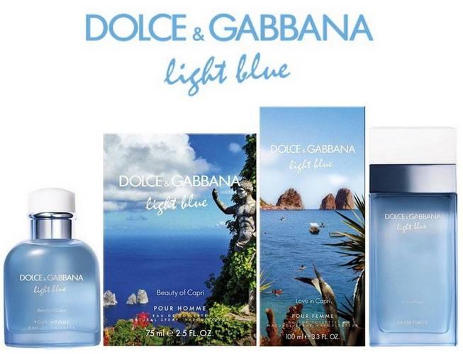Light Blue Love In Capri By Dolce Amp Gabbana Review Price