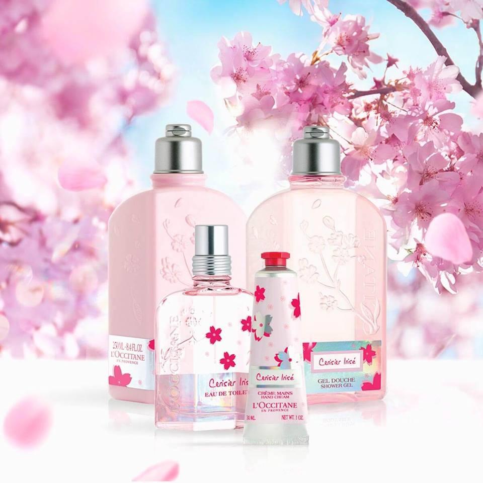 L'Occitane Cherry Blossom Cerisier Rose Eau de Toilette