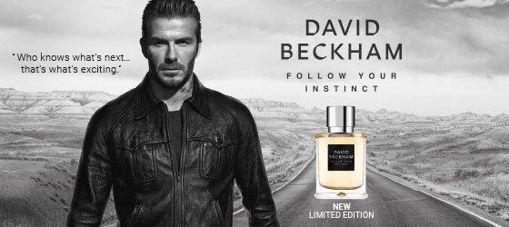 David Beckham Follow Your Instinct Perfume