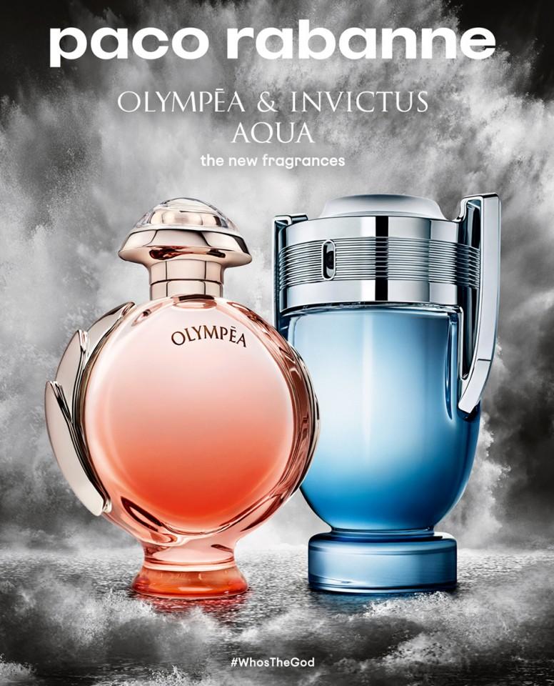 Paco Rabanne Invictus Aqua 2018 Perfume