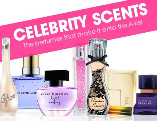 Top 10 Best-Selling Celebrity Perfumes