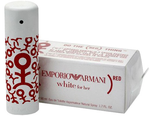 Emporio Armani Red Pour Elle White New Perfume Perfumediary
