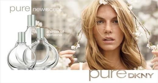 Donna Karan Pure Dkny Verbena Perfume Ad Perfumediary