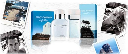 Dolce & Gabbana Light Blue Dreaming in Portofino & Light Blue Living Stromboli