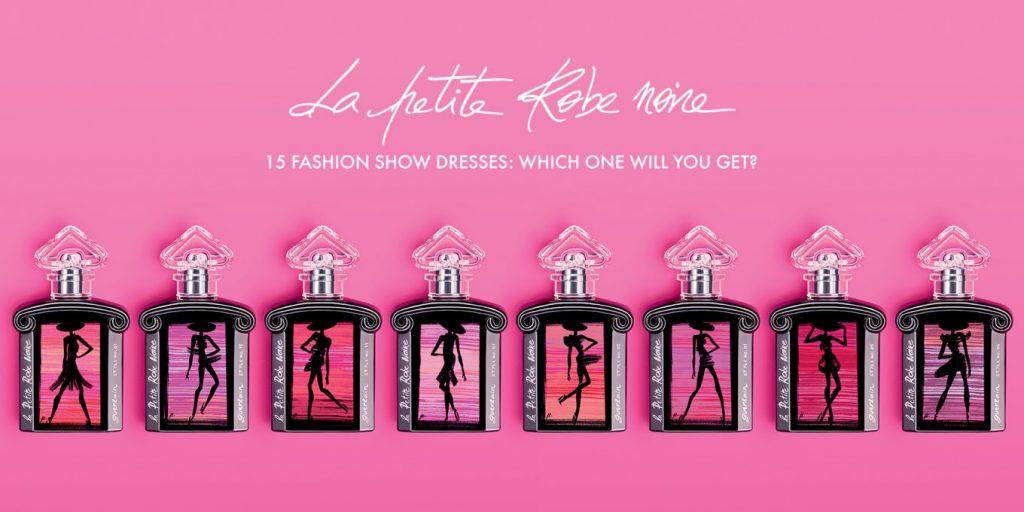 Guerlain La Petite Robe Noire Collection line