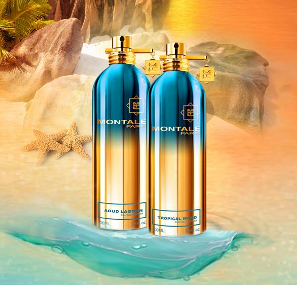 Montale Tropical Wood and Montale Aoud Lagoon perfumes