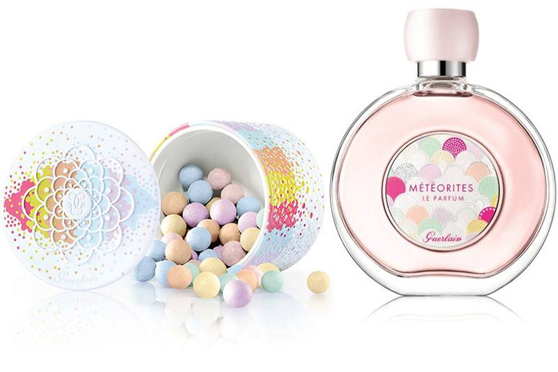 Guerlain Meteorites Parfume and Pearls Review - YouTube