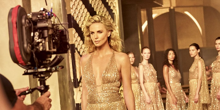Charlize Theron in a new spot for Dior's J'adore Absolu new