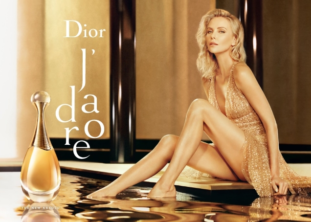 Charlize Theron in a new spot for Dior's J'adore Absolu