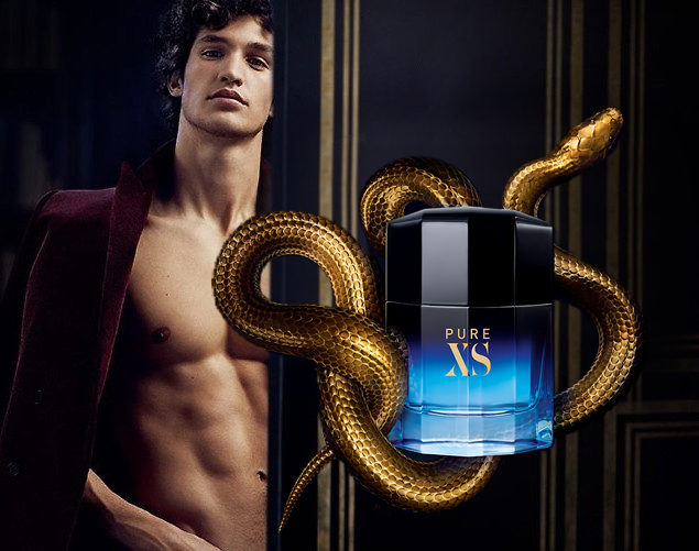 The Paco Rabanne Pure XS 'universe' has expanded with the release of new masculine eau de parfum Pure XS Night, Puig has announced.  Available in 50ml and 100ml editions, Pure XS Night is selling in European travel retail and will roll out to other regions later this year, namely the Americas (February), Asia Pacific (March) and Middle East (July).  The spicy oriental scent, devised by IFF perfumers Caroline Dumur, Anne Flipo and Bruno Jovanic, 'retains the hot-and-cold duality of pure XS by delving into excess sensuality and tension', according to the brand.