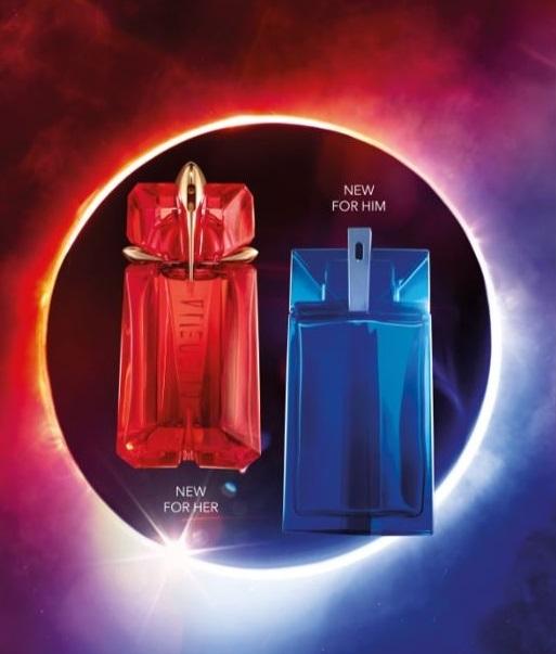 Mugler Alien Fusion & Alien Man Fusion Perfumes